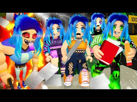 We went to a CREEPY High School in Roblox Bakon!