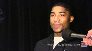 E'Twaun Moore Draft Combine Interview