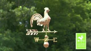 Rooster Weathervane - Good Directions