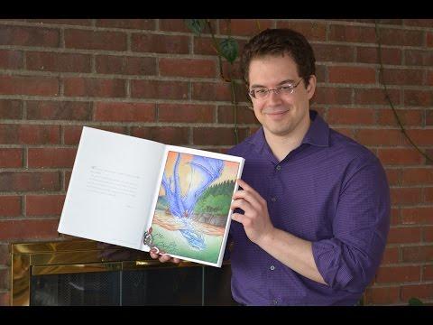 Christopher Paolini Colors: Saphira & Eragon in Leona Lake | THE OFFICIAL ERAGON COLORING BOOK