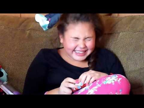 Awww! Little Girl Gets Gaga tix and Freaks out!