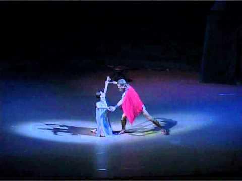 Spartacus  ballet  Adagio of Spatacus & Phrygia 3 act soloists Yuri Smekalov  Daria Vasnetsova