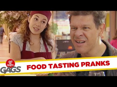 Troll Hài Hước 2015 - Food Tasting Pranks