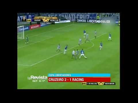 Copa Libertadores: Cruzeiro 2 – 1 Racing (видео)