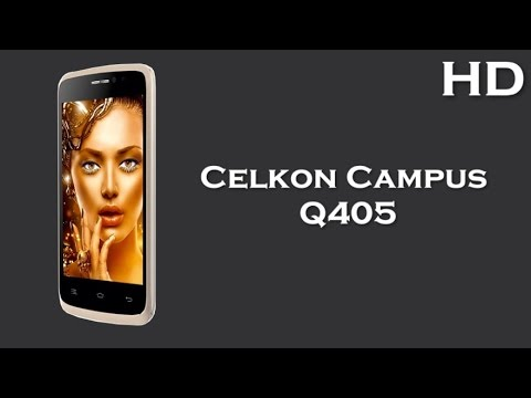 Celkon Campus Q405 comes with 4.0 Inch Display 1500mAh battery, 512MB RAM, Android 4.4 KitKat