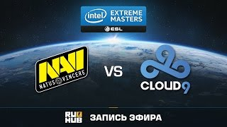 Natus Vincere vs Cloud9 - IEM Katowice - Group B - de_mirage [Enkanis, yxo]