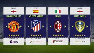 Video FIFA 18: 10 Best Teams To Use In FIFA 18 Career Mode MP3, 3GP, MP4, WEBM, AVI, FLV Desember 2017