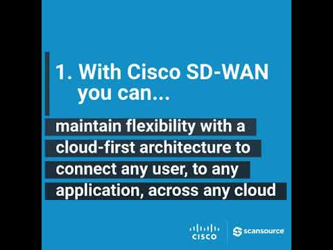 Five tips for selling, implementing, and navigating...Cisco SD-WAN.