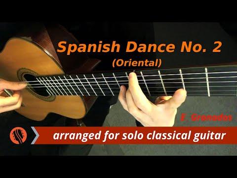 E. Granados - Spanish Dance No. 2: Oriental, classical guitar arrangement by Emre SabuncuoÄŸlu