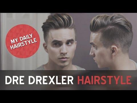 My Daily Hairstyle | Dre Drexler Undercut | Men's Hairstyles