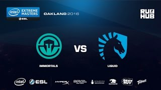 IEM Oakland - Immortals vs Team Liquid - de_cache - [ceh9, CrystalMay]