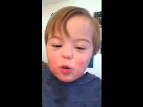 VIRAL: Toddler Does The Most Adorable Version Of ABC's