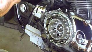 8. Honda Shadow Sabre Clutch Replacement