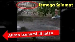 Download Video Kepanikan warga saat Gempa dan Tsunami datang di pantai Palu #PrayforPalu MP3 3GP MP4
