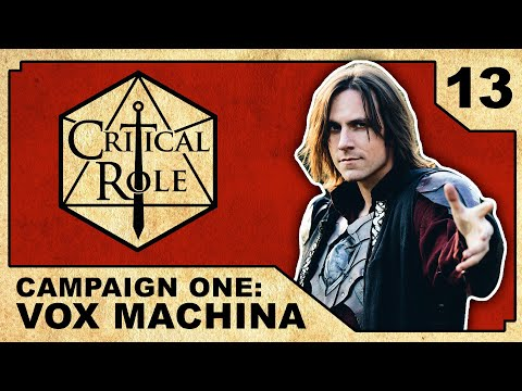 Escape from the Underdark | Critical Role: VOX MACHINA | Episode 13