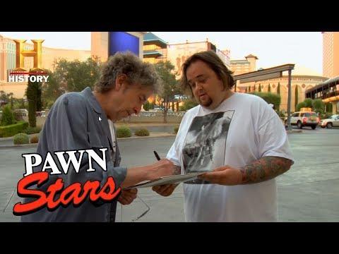 Pawn Stars: Chumlee Gets Bob Dylan's Autograph (Season 3)   History