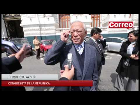 Lay: parece que Humala está propiciando un choque de poderes