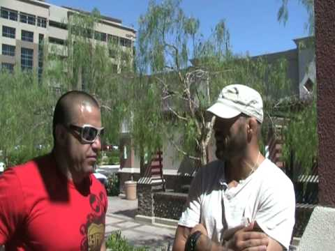 Randy Couture prepares for boxing legend James Toney
