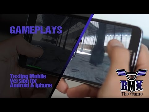 version - Get involved in our community and get your pre-order now on http://www.bmxthegame.com. --- First tests - Work In Progress - Mobile Version for Android & Iphone --- http://www.bmxthegame.com...