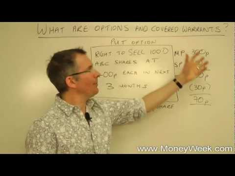 Options - Tim Bennett provides an introduction to options and covered warrants. Ideal for a beginner, or someone looking to brush up on their knowledge of financial tr...