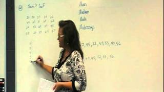 MAT 110 Final Study Guide: Chapter 13:  Statistics