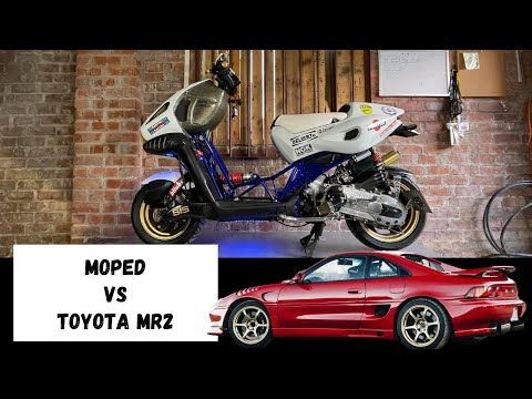 Italjet Dragster Vs Toyota MR2