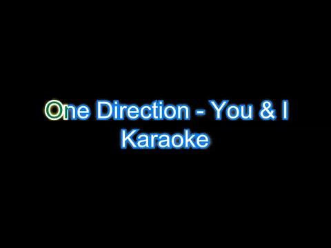 You and I One Direction Karaoke Lyrics [Firecat Release]