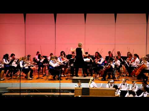 """""""Shepherds Hymn"""" - RTMS 5th & 6th Grade Orchestra - 2012 Spring Concert"""