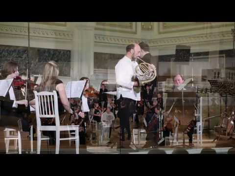 Weber Horn concertino with the natural horn