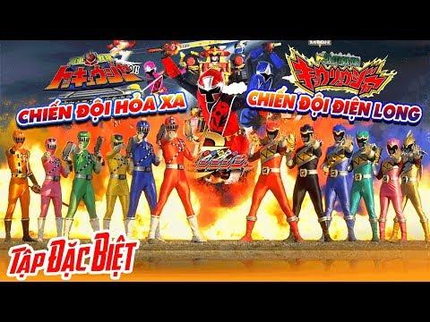 Chiến Đội Hỏa Xa vs Chiến Đội Thú Điện Long vs Chiến Đội Ninja - Phim Siêu Nhân Chiếu Rạp - Thời lượng: 1:03:41.