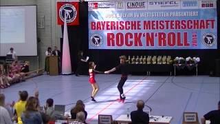 Ramona Zrenner & Michael Miller - Bayerische Meisterschaft 2014