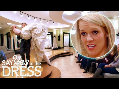 """""""This Is Not Southern To Me! This Is Like... Monstrosity!""""   Say Yes To The Dress Atlanta"""