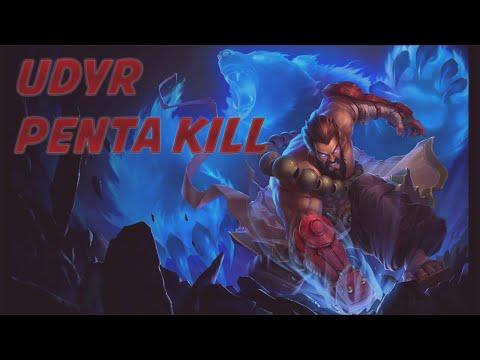 League of Legends - Udyr Penta