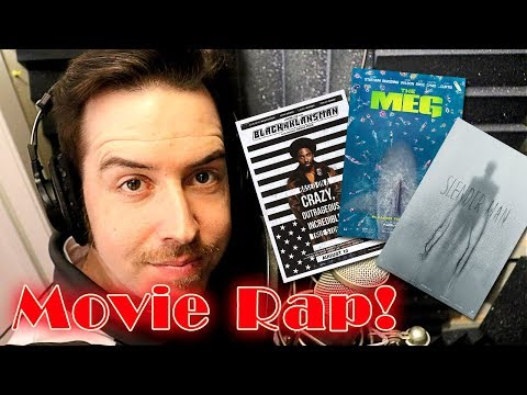Movie Rap - 08/10/18 - BlackkKlansman, Slender Man, The Meg