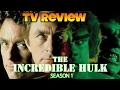 80's TV Review: The Incredible Hulk (1977) Season 1 DVD Box Set