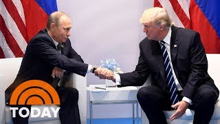 It has been revealed that at the G20 summit in Germany earlier this month, President Trump had a second, previously undisclosed conversation with Russian President Vladimir Putin. The White House is pushing back against criticism of the encounter. NBC White House correspondent Kristen Welker reports for TODAY. » Subscribe to TODAY: http://on.today.com/SubscribeToTODAY» Watch the latest from TODAY: http://bit.ly/LatestTODAYAbout: TODAY brings you the latest headlines and expert tips on money, health and parenting. We wake up every morning to give you and your family all you need to start your day. If it matters to you, it matters to us. We are in the people business. Subscribe to our channel for exclusive TODAY archival footage & our original web series.  Connect with TODAY Online!Visit TODAY's Website: http://on.today.com/ReadTODAYFind TODAY on Facebook: http://on.today.com/LikeTODAYFollow TODAY on Twitter: http://on.today.com/FollowTODAYFollow TODAY on Google+: http://on.today.com/PlusTODAYFollow TODAY on Instagram: http://on.today.com/InstaTODAYFollow TODAY on Pinterest: http://on.today.com/PinTODAYDonald Trump Had Second 'Conversation' With Vladimir Putin At G20: What Was Discussed?  TODAY
