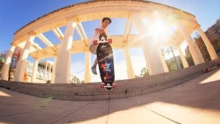 Valencia Travels with the Apex 40 DiamondDrop Longboard
