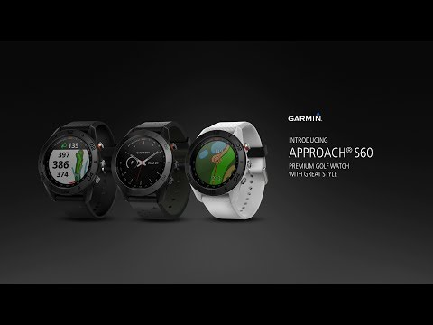 Garmin Approach S60: Get the Golf Watch with Modern Style
