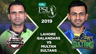 Match 29: Full Match Highlights Lahore Qalandars vs Multan Sultans | HBL PSL 4 | HBL PSL 2019