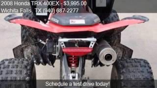 3. 2008 Honda TRX 400EX  for sale in Wichita Falls, TX 76301 at