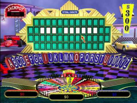 Wheel of Fortune 2nd Edition (PC) Gameplay