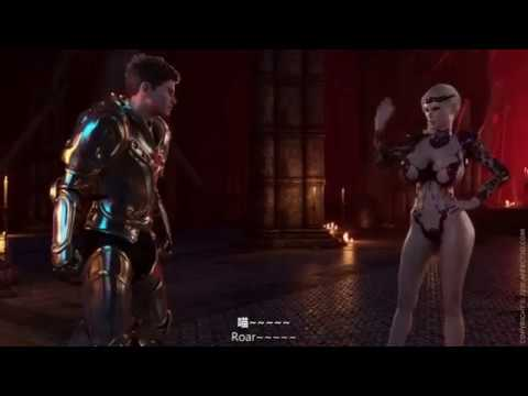 bloodlust fight scence affect3d (видео)