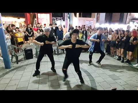 킹덤즈(Kingdoms)/ 불타오르네(FIRE)[1.5배속]-방탄소년단(BTS) 20190730 홍대버스킹(HongDae Busking)