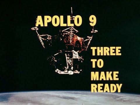 APOLLO 9 -  THREE TO MAKE READY (1969,  HD source) - NASA documentary © Retro Space HD