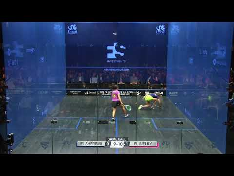 Squash analysis: Welily's game