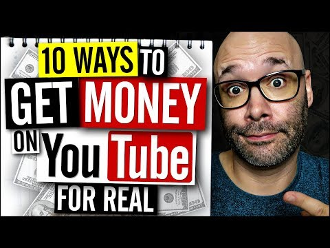 10 Ways to Make Money on YouTube in 2018