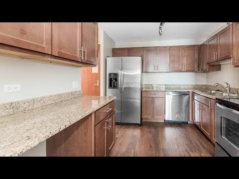 A spacious 2-bedroom, 2-bath at the luxurious North Harbor apartments