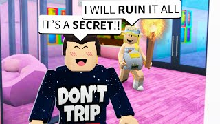 The Mean Girl RUINED This SURPRISE For My Girlfriend In Roblox Bloxburg