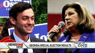 Georgia Republican Karen Handel beat Democrat Jon Ossoff in the most expensive House race in U.S. history widely viewed by...