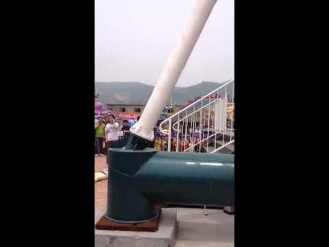 中國新開的遊樂場發生意外,遊客高空墜下釀多人死傷